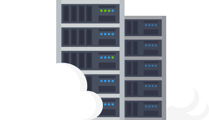 Servers with cloud