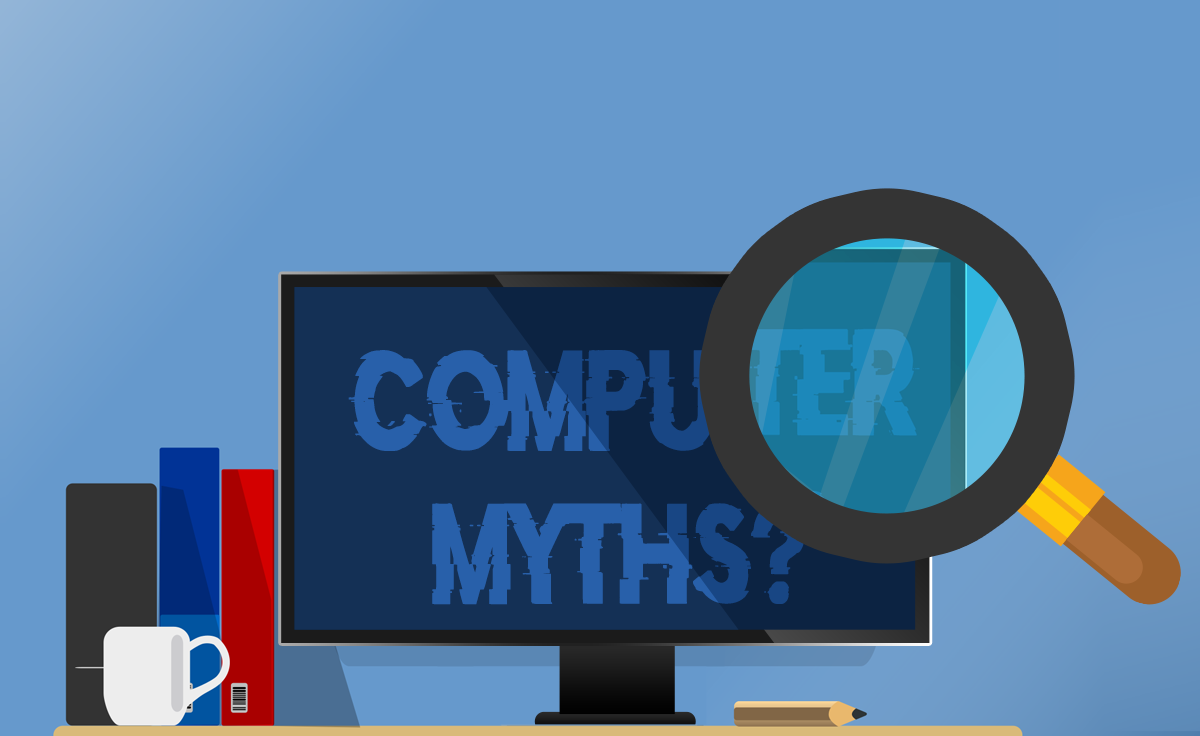 five common computer myths debunked