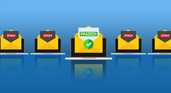 emails flagged as spam